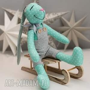 unikalne zabawki królik z imieniem prezent