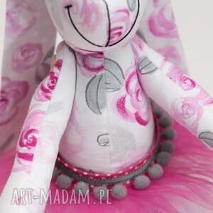 królik zabawki różowe z imieniem