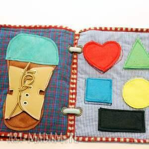 edukacyjna zabawki czerwone książeczka jeżyk 1