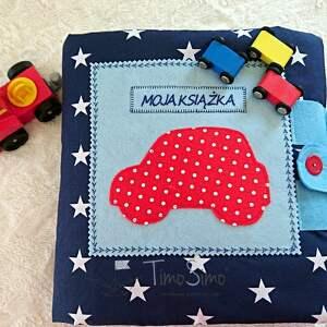 zabawki quiet book nauka przez zabawę! książeczka edukacyjna