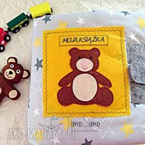 niepowtarzalne zabawki quietbook książeczka sensoryczna dladziecka 1