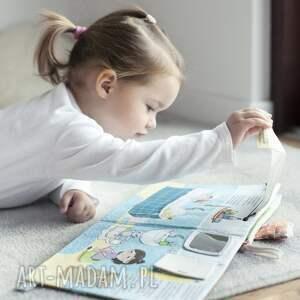 zabawki książeczka książka z okienkami - mela i maks