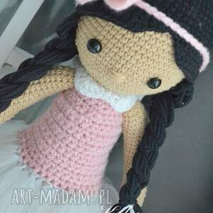 szare zabawki lalka lala elwira - spódniczka tutu