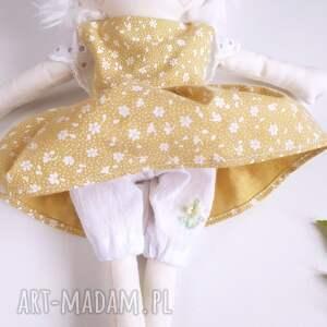 białe zabawki zwierzęta lalka alpaka1