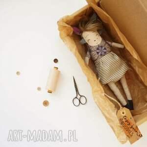 zabawki lalka z-charakterem handmade z tkaniny - satomi
