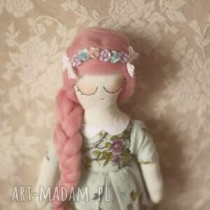 turkusowe zabawki różana bajka - lalka ania