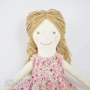 przytulanka zabawki lalka szmaciana, sukienka w