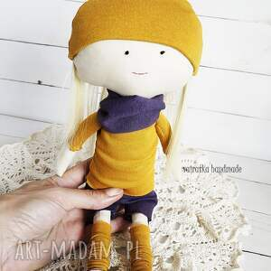 zabawki zabawka lalka w fioletach