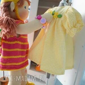 świąteczne prezenty lalka waldorfska, szmacianka