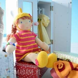 świąteczne prezenty waldorfska lalka waldorfska, szmacianka