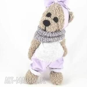 zabawki dla-dziewczynki lilka - szydełkowa misia