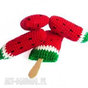 zielone zabawki patyk lody arbuzowe na patyku x4