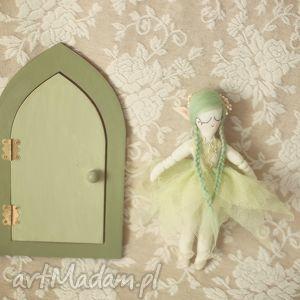 unikalne zabawki drzwi magiczna bajka - zielony elf
