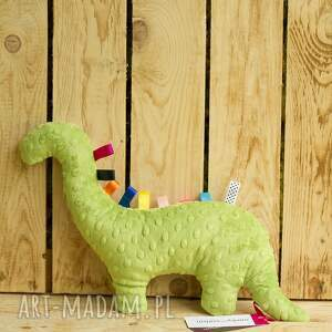 zabawki minky mięciutki dinozaur - bawełna