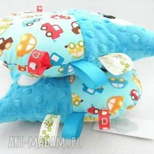 intrygujące zabawki sowa minky - przytulanka z metkami