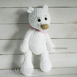 gustowne zabawki zabawka miś amigurumi biały, 307