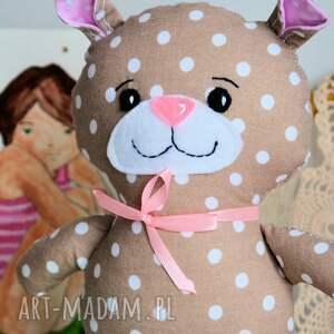 białe zabawki dziewczynka miś kuleczka - ewunia - 26