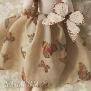 lalka zabawki brązowe motyla bajka - mariposa