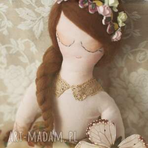urokliwe zabawki wróżka motyla bajka - lalka mariposa