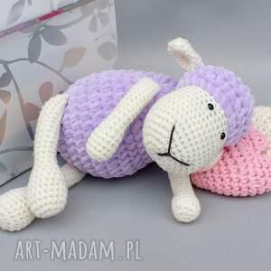 hand-made zabawki dziecko owieczka matylda