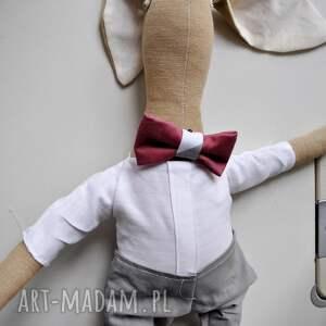 oryginalne zabawki przytulanka pan królik