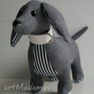 hand made zabawki pies jamnik
