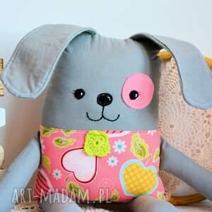 szare zabawki dziewczynka piesek łatek - antosia - 39