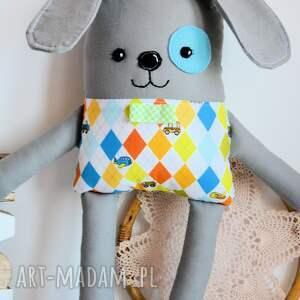 Maly Koziolek zabawki: Piesek Łatek - Walduś - 39 cm - bezpieczna pies