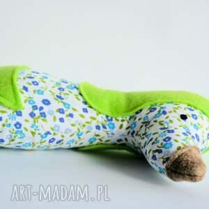 niebieskie zabawki szczekuś piesek - 18 cm kasia
