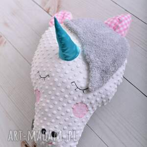 różowe zabawki koń-poduszka poduszka dziecieca jednorożec