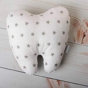 handmade zabawki wróżka-zębuszka poduszka dziecięca ząbek