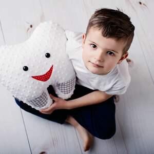 zabawki ząbek-wypadł poduszka dziecięca ząbek