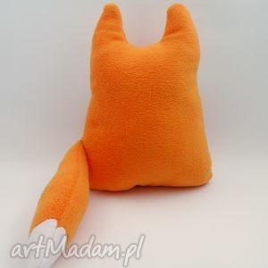rękodzieło zabawki poduszka lis lisek