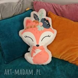 zabawki poduszka - przytulanka lis