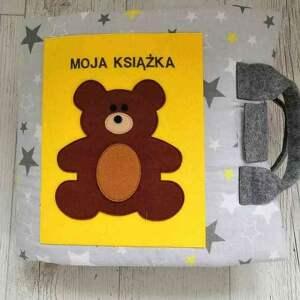 niepowtarzalne zabawki quietbook książeczka sensoryczna dla dziecka