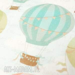 handmade zabawki dziecko przytulak balony ecru