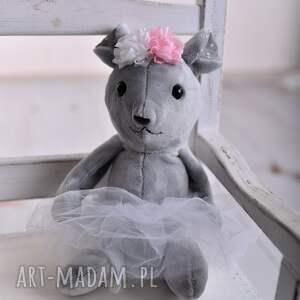myszka-hand-made zabawki przytulanka dziecieca mysz