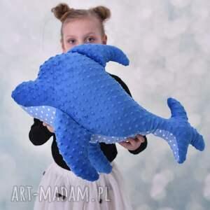 wyjątkowe zabawki delfin-poduszka przytulanka dziecięca delfin
