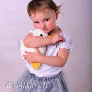 zabawki kaczka-hand-made przytulanka dziecięca kaczuszka