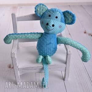zabawki: Przytulanka dziecięca małpka - Hand Made minky