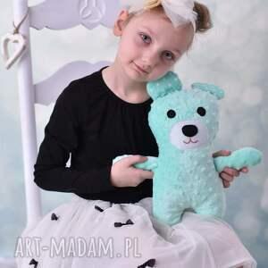 ręcznie robione zabawki miś-zabawka przytulanka dziecięca miś