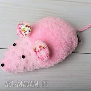 różowe zabawki myszka-zabawka przytulanka dziecięca myszka