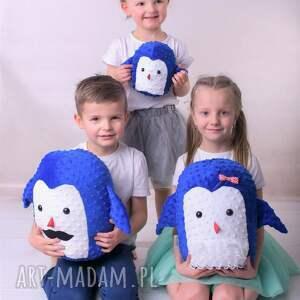 zabawki pingwin-hand-made przytulanka dziecięca pingwin mama
