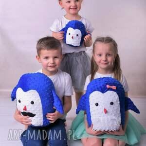 niesztampowe zabawki pingwin poduszka przytulanka dziecięca