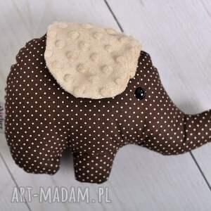 słoń-zabawka zabawki różowe przytulanka dziecięca