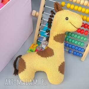 dziecko zabawki przytulanka podusia żyrafka