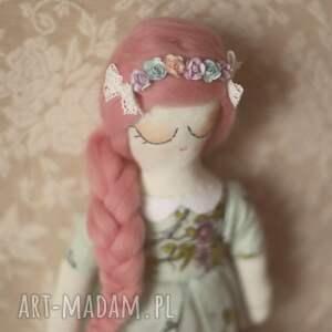hand-made zabawki lalka różana bajka - ania