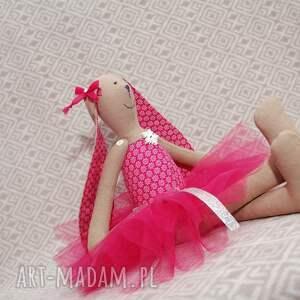 baletnica zabawki różowe rubinowa
