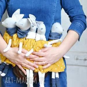hand-made zabawki sarenka gloria miodowa