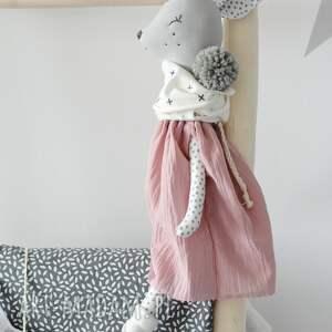 atrakcyjne zabawki sarenka gloria różowa